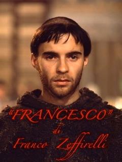 La copertina del libro su Francesco d'Assisi