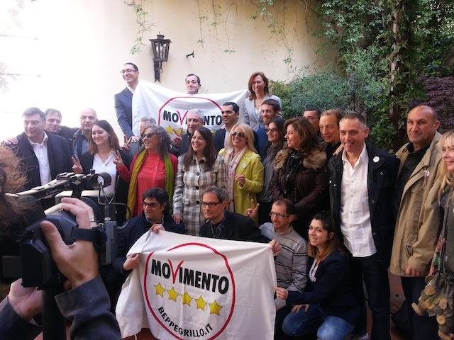 I candidati del Movimento 5 Stelle a Palazzo Vecchio