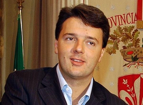 Matteo Renzi Presidente della Provincia di Firenze
