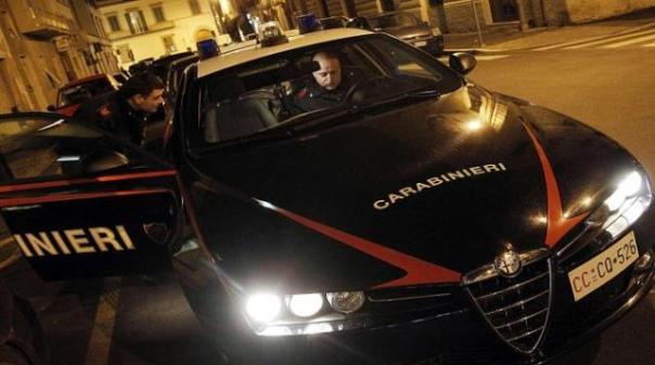 Sul posto è intervenuta una pattuglia del 112 dei carabinieri
