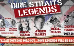 Firenze, tornano i «Dire Straits Legends»