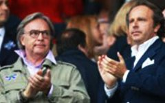Fiorentina, malumori post Milan: striscione contro i Della Valle