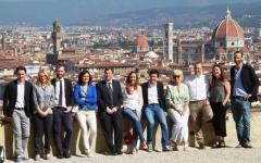 Firenze, giunta comunale con vista: Nardella e assessori a San Miniato al Monte