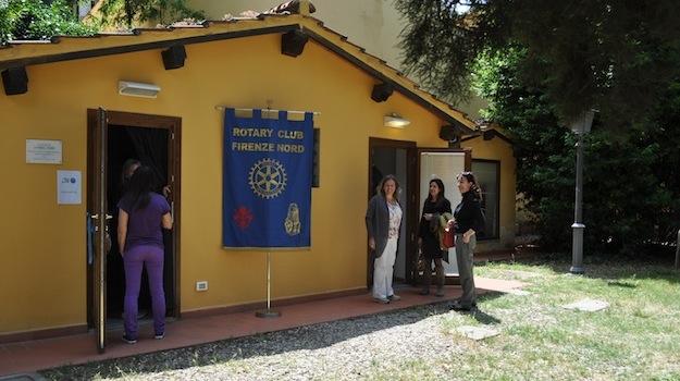 Il nuovo spazio protetto all'interno dell'Istituto degli Innocenti