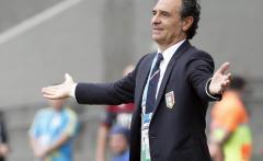 Il commissario tecnico della Nazionale, Cesare Prandelli