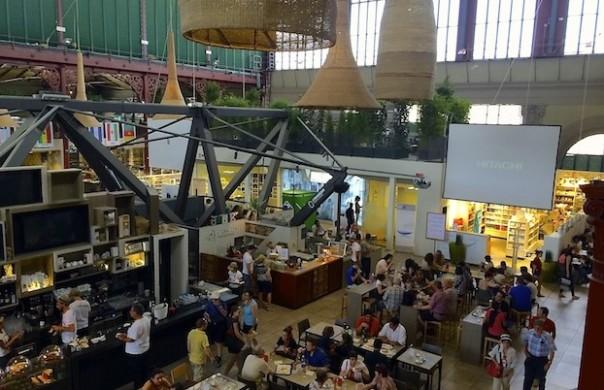 Il nuovo spazio del Mercato Centrale di Firenze
