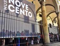 San Giovanni, lunga coda al Museo del Novecento nel primo giorno di apertura gratuita a San Giovanni (foto da Twitter)