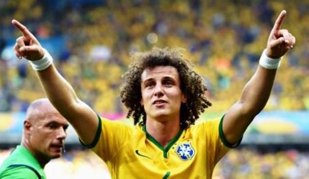 David Luiz, campione che cercherà di rendere meno pesanti le assenze di Neymar e Thiago Silva