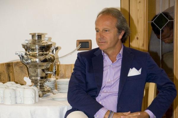 Andrea Della Valle mercoledì dovrebbe essere a Firenze per la presentazione delle maglie