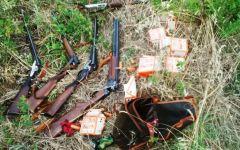 Campi Bisenzio, guardie dell'Enpa cercano cani e gatti abbandonati e trovano fucili rubati