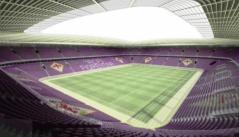 Il progetto del nuovo stadio della Fiorentina a Novoli