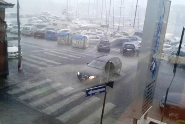 Nubifragio a Viareggio, oggi 26 luglio