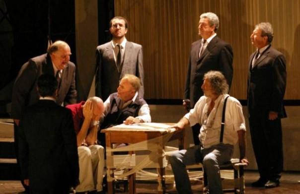 Uno spettacolo del Teatro povero di Monticchiello