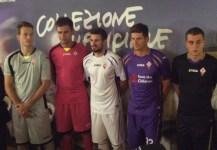 Da sinistra: Neto, Tatarasanu, Tomovic, Gomez e Octavio con le nuove maglie