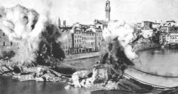 I ponti di Firenze, 1944