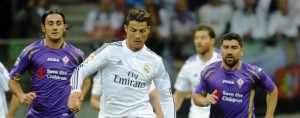 Real Madrid-Fiorentina: Ronaldo, Pizarro e Aquilani