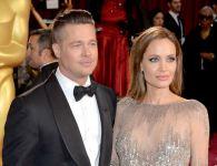 Brad Pitt e Angelina Jolie alla premiazione degli Oscar 2014