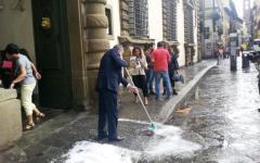 Toscana, bomba d'acqua: Rossi chiede lo stato di calamità al Governo. Anche per la vendemmia compromessa