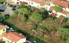 Bomba d'acqua e grandine: 5mila euro dalla Regione per le famiglie colpite. Per i danni all'agricoltura scatterà lo stato di calamità natura...