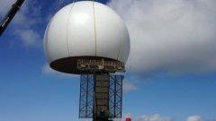 Il nuovo impianto radar a Poggio Ballone
