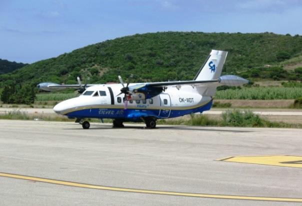 Aereo LET410 da 16 posti della Silver Air2