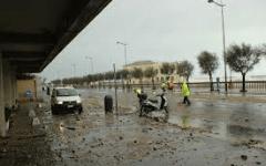 Livorno: nubifragio, sottopassi allagati. Smottamento a Quercianella. Polemica comune-Regione: mancato allerta meteo