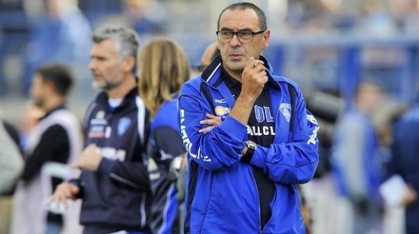 Maurizio Sarri, ormai ex allenatore dell'Empoli, ora pronto ad affrontare l'avventura a Napoli (Foto Giacomo Morini)