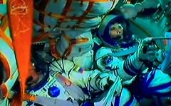 Samantha è partita per lo spazio