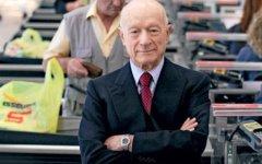 Il patron di Esselunga, Bernardo Caprotti: ha voluto privilegiare la fedelissima segretaria