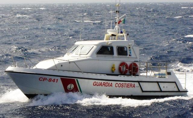 Un'unità della Guardia Costiera