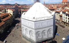 Firenze, Battistero: il restauro ora si fa «in cordata»