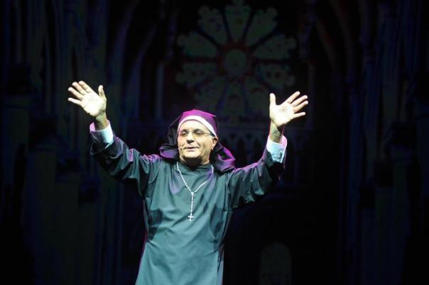 Giorgio Panariello e il suo spettacolo 'Panariello sotto l'albero. Vent'anni dopo'