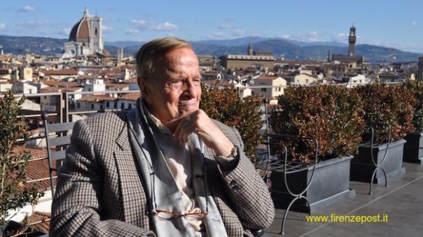 Franco Zeffirelli oggi 28 gennaio 2015 a Firenze
