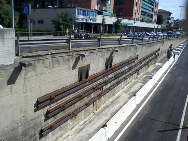 Muro del sottopasso