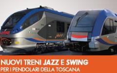 Firenze: ecco i nuovi treni Jazz e Swing. Serviranno per i pendolari
