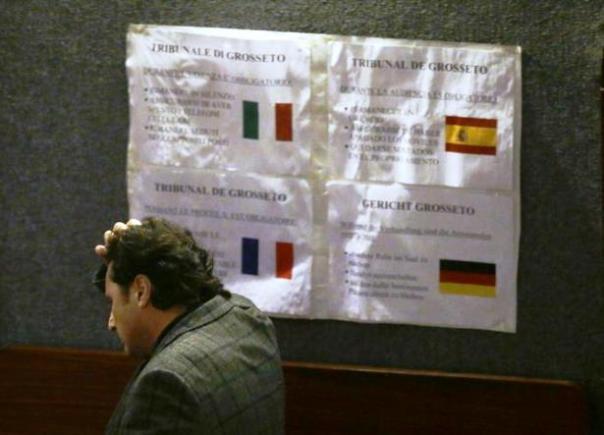 Francesco Schettino attende la sentenza