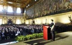 Firenze, San Valentino: festa delle nozze d'oro a Palazzo Vecchio per centinaia di coppie