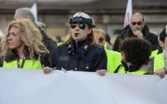 Vigili Urbani in sciopero: vogliono essere trattati come i poliziotti e i carabinieri. Diecimila in corteo a Roma