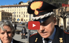 Fiesole dà la cittadinanza onoraria all'Arma dei Carabinieri (VIDEO)