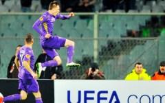Europa League: La Fiorentina spreca, la Roma pareggia: 1-1. Grande Neto: para un rigore a Ljajic. Pagelle