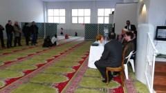 L'interno della nuova moschea di Borgo San Lorenzo (Foto Tele Iride)