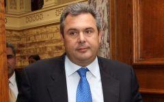 UE, il ministro greco Kammenos torna all'attacco della Germania: se la Grecia esce dall'Ue, Italia e Spagna la seguiranno