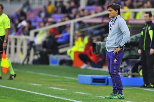 Vincenzo Montella stravolto dal risultato: è la terza sconfitta consecutiva in campionato. Mai successo con lui in panchina