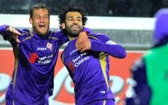 Pasqua, campane a festa per la Fiorentina. Sampdoria schiacciata (2-0) dai gol di Diamanti e Salah. Martedì la Juve. Pagelle