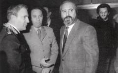 Giuseppe De Gregorio e Giovanni Falcone