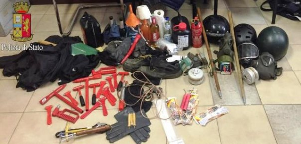Polizia, blitz contro i No Expo a Milano: sequestri e denunce