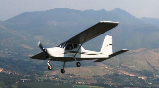 Un aereo ultraleggero