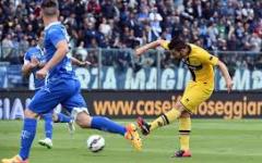 Empoli: pareggio-beffa con il Parma (2-2). Intanto l'Arsenal offre 13 milioni alla Juve per Rugani