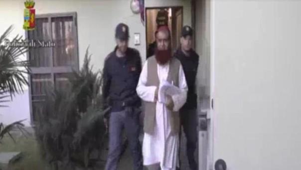 L'arresto dell'imam
