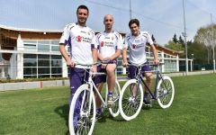 Fiorentina: contro il Verona (lunedì 20 aprile) riecco Diamanti e Gilardino. Per la Dinamo (giovedì 23) appello di Nardella a riempire lo st...
